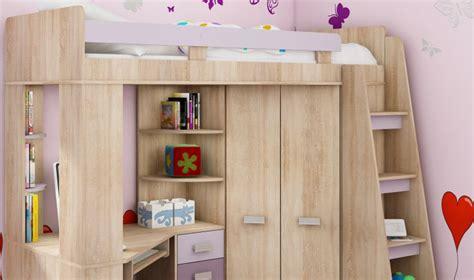 lit en hauteur avec canap lit en hauteur combin avec bureau armoire et rangement intgr