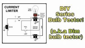 Light Bulb Current Limiter Schematic
