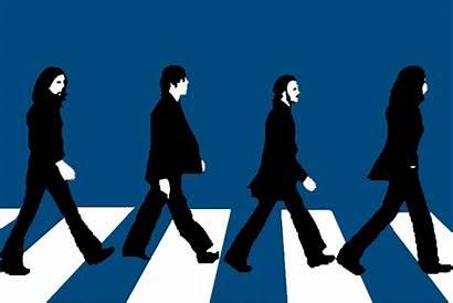 Abbey Road Silhouette Walking Clipart Beatles Need