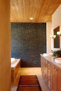 Carrelages Salle De Bain : le carrelage galet pratique rev tement pour la salle de bain ~ Melissatoandfro.com Idées de Décoration