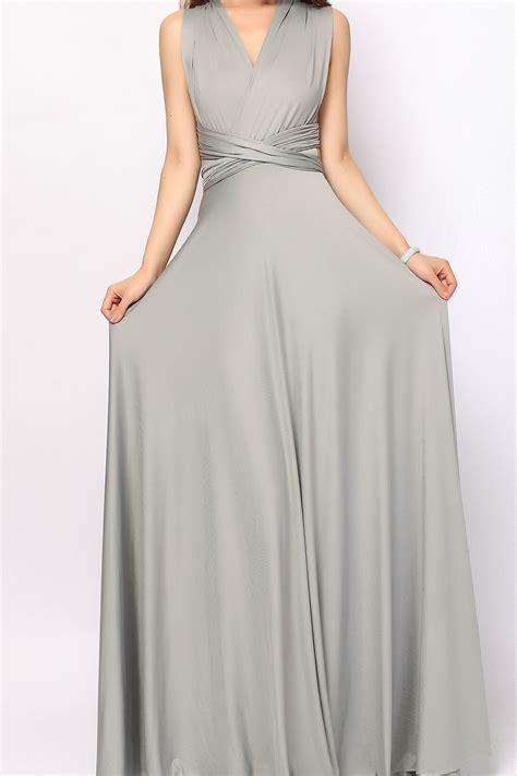 Light Pink Formal Dresses by Grey Long Infinity Dress Convertible Dress Bridesmaid