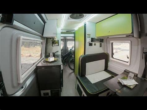 winnebagos  revel camper van based  mercedes