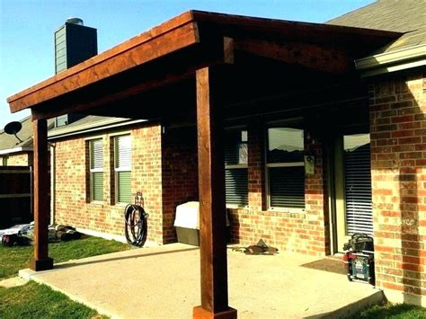 how to build a patio cover attached to house how to build a covered patio attached to a house