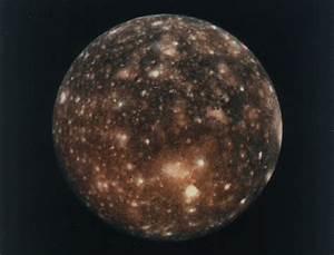 Jupiter's Moon: Callisto | Exploring the Planets ...