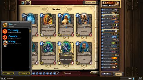 warrior hearthstone deck naxx hearthstone naxx warrior legendary rank deck