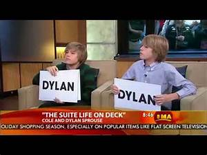 Dylan & Cole Sprouse on Good Morning America - 2008. - YouTube