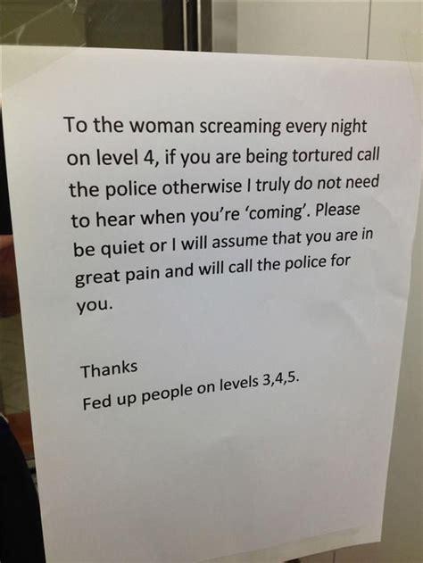notes  neighbors  pics funny