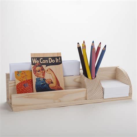 organiseur de bureau en bois grand organisateur de bureau en bois porte cartes et
