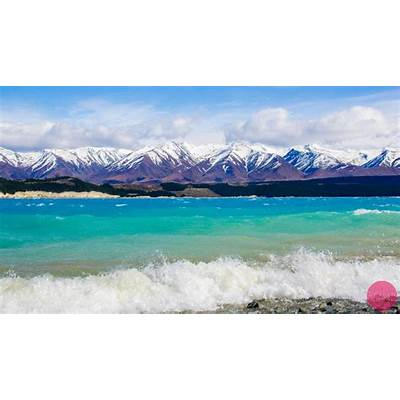 Lake Pukaki NZ on a windy day [1920 × 1091] [OC] [OS