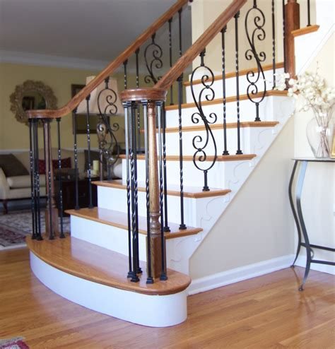Hardwood staircases, images and photos of different wood
