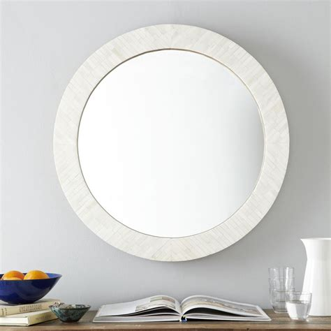 parsons  mirror bone inlay west elm australia