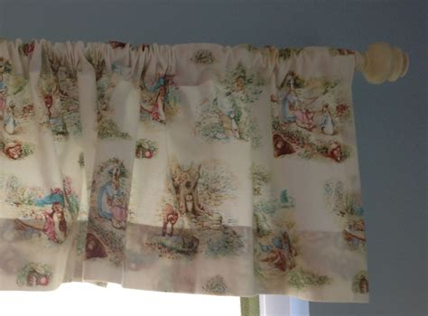Finns Peter Rabbit Curtains Are Made By My Mom We Found
