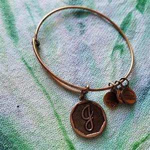 36 off alex ani jewelry alex and ani energy for Letter j bracelet