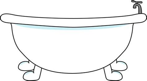 Bath Tub Clipart by Bathtub Clip Bathtub Image
