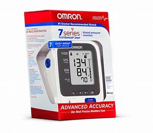 Omron Bp761 7 Series Upper Arm Blood Pressure Monitor Plus