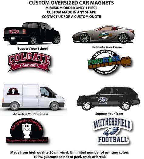 Oversized Custom Car Magnets
