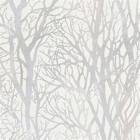 Birch Branches Silver Sequin Sparkle  Home Lighting Ideas