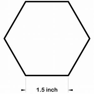 hexagon paper templates for patchwork freezer paper hexagons With 1 5 inch hexagon template