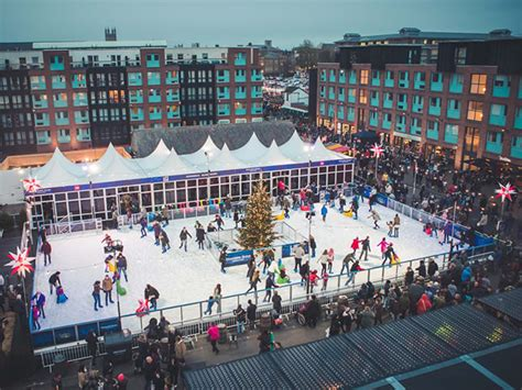ice rink officially launched  gloucester quays