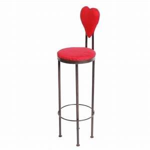 Tabouret De Bar Fer : tabouret de bar fer forg coeur ~ Dallasstarsshop.com Idées de Décoration