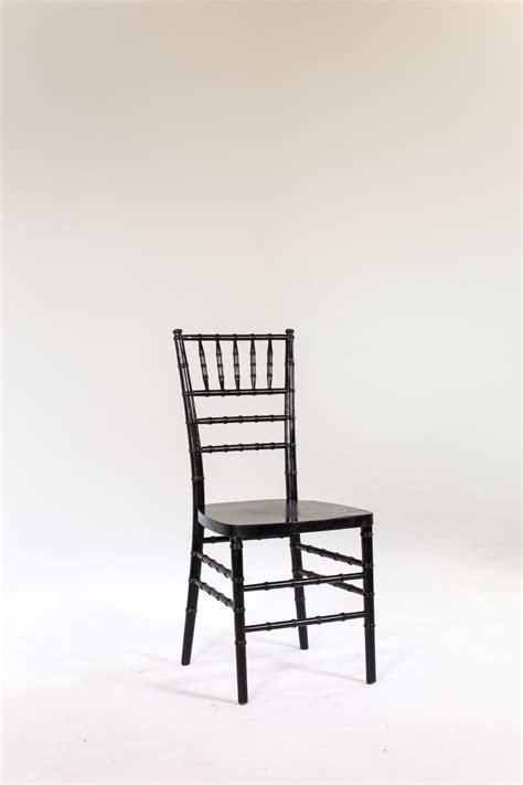 signature rentals chair black chiavari rentals