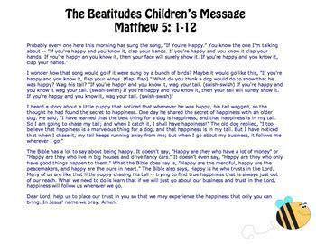 the beatitudes for preschoolers the beatitudes children s message activities amp crafts by 470