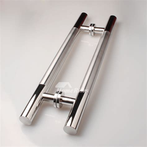 black door handles stainless steel glass oil rubbed bronze