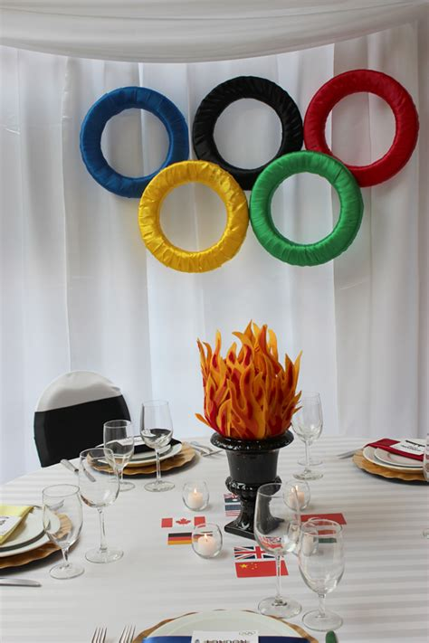 Olympic Themed Do It Yourself Projects  Special Event