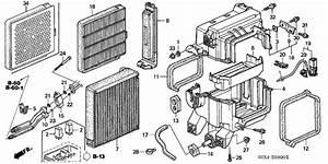 A  C Cooling Unit 2004 Honda Odyssey Parts Lx 5 Speed