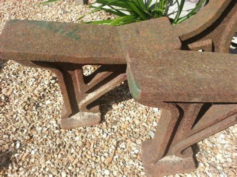 Cast Iron Bench Ends For Sale by Cast Iron Railway Bench Ends 297239 Sellingantiques Co Uk