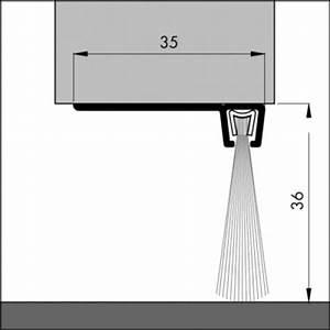 Spalt Unter Tür Abdichten : t rboden dichtung tb026 l nge 1 m aluminium pressblank ~ Michelbontemps.com Haus und Dekorationen