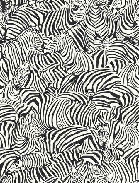 Animal Print Wallpaper Designs - zebra wallpaper design studio design by color