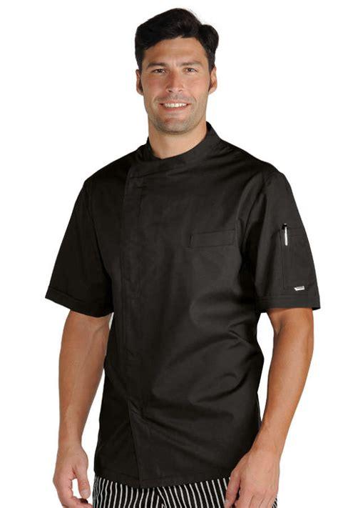veste chef cuisinier noir tissu ultra l 233 ger vestes de