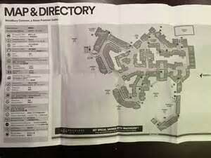 map of woodbury commons stores pictures to pin on