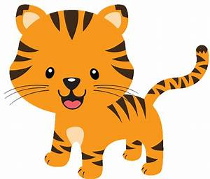 Baby Shower Tiger Clipart - ClipartXtras