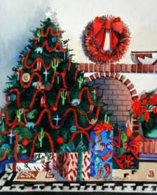 southwest christmas decorating ideas adobe decorations