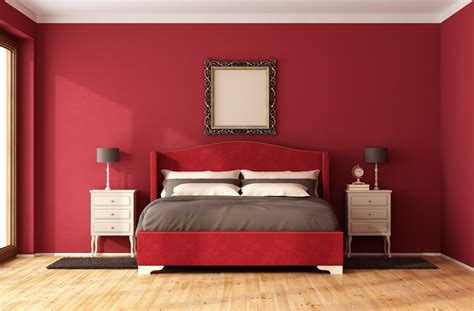 Red Bedrooms : These Are The Worst Paint Colors You Should Never Use In