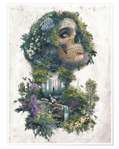 leben und tod leben und tod surrealismus poster poster bestellen