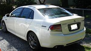 2008 Acura Tl Type S White