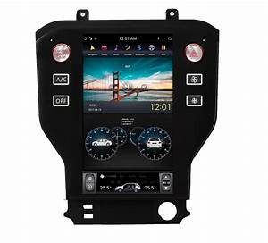 2015-2018 Ford Mustang 10.4 Tesla-Style Android Radio Stereo GPS NAVI - CARSOLL