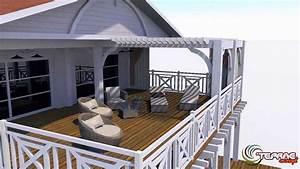 plan de maison permis de construire plan de jardin 3d With construction de maison en 3d