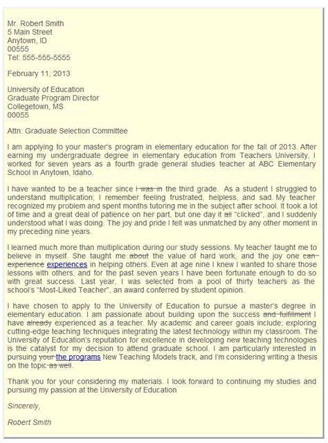 letter of intent graduate school graduate school admissions letter of intent college 29607