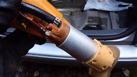 como cambiar bomba de combustible volvo