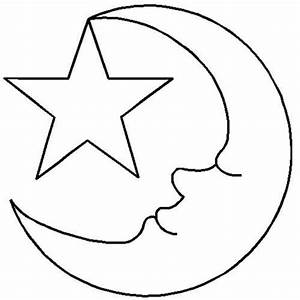 Quilt, Stencils, By, Hari, Walner, 2, U0026quot, Moon, U0026, Star