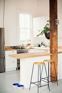 decouvrir la beaute de la petite cuisine ouverte With cuisine americaine avec bar