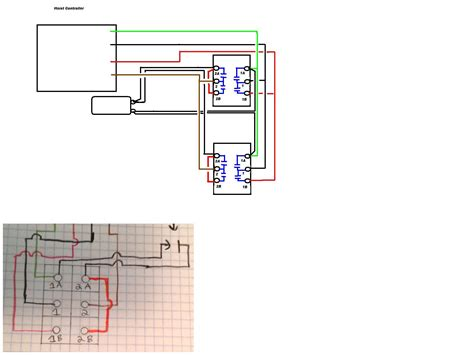 Pendant Switch Wiring Diagram by Wire A 2 Station Up Push Button Also Has A