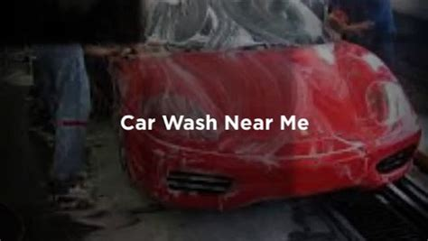 Car Wash Near Me  Video Dailymotion