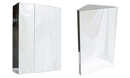bathroom mirror cabinet groupon goods