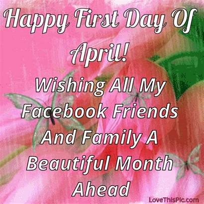 April Hello Happy Quotes Month Welcome March