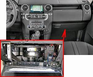 Fuse Box Diagram Land Rover Discovery 4    Lr4  2009